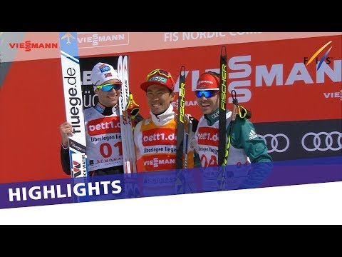 Akito Watabe claims another win in season-ending Gundersen at Schonach | Highlights