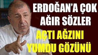 Ümit Özdağ'dan Erdoğan'a çok sert sözler: Terör örgütü için para bastırdı