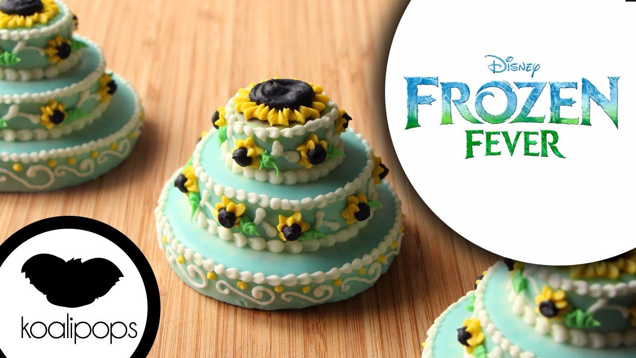 Frozen Fever Princess Anna Birthday Cake Cookies How To Youtube