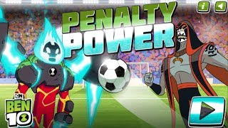 Ben 10 Penalty Power - Soccer Penalty Shootout Game Walkthrough