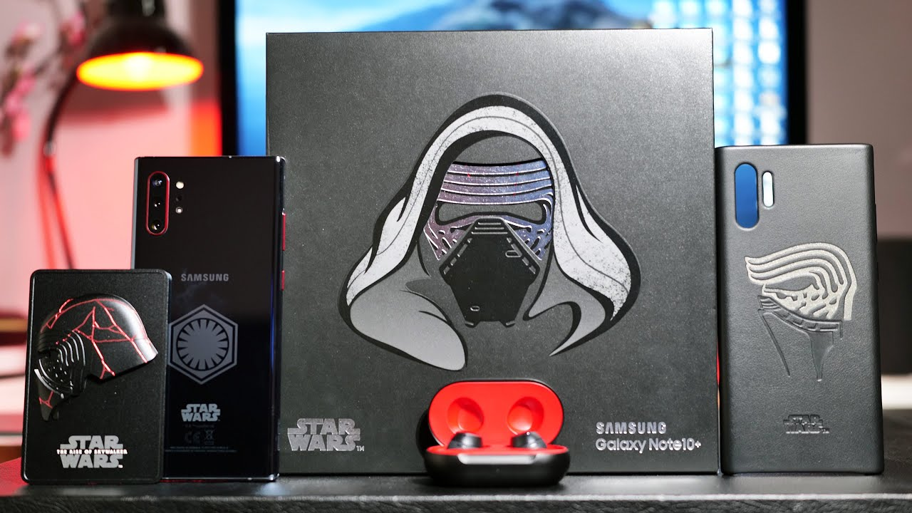 Samsung Galaxy Note 10 Plus Star Wars Edition Unboxing Youtube