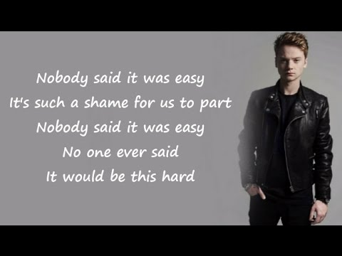 Conor Maynard - ARE YOU SURE ✖ THE SCIENTIST (Acoustic) (Lyrics)
