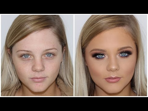New Full Coverage Glam Makeup Tutorial