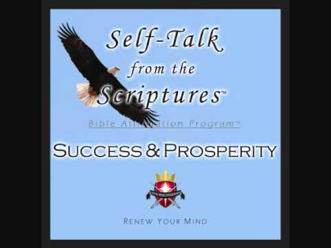 Bible Verses on SUCCESS & PROSPERITY - Christian Self Talk CD