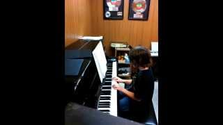 Video Time Lapse One Minute Piano Lesson - Piano Keyboard Lessons Portland