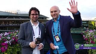 Wimbledon 2019.   Viško i Cvija odjava drugog dana 2.7.2019.   SPORT KLUB Tenis