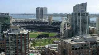 Padres vs Dodgers - Opening Day 2012 Timelapse