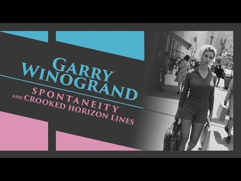 Garry Winogrand and his Crooked Horizon Lines [Street Photography Tips] (2018)