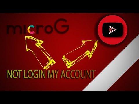 MicroG not login my account in YouTube Vanced
