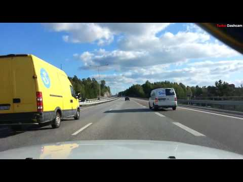 Turbo Dashcam #1 - Fast and slow in Stockholm