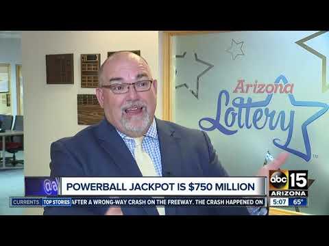 Powerball jackpot up to $750 million!