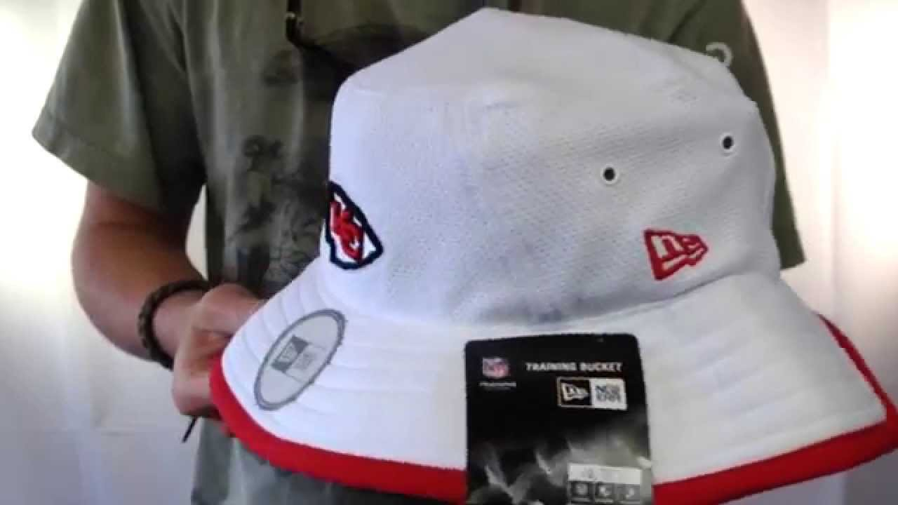Chiefs  2014 NFL TRAINING BUCKET  White Hat by New Era - YouTube 81d9c2892a7