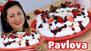 Irresistível Pavlova De Frutas Vermelhas