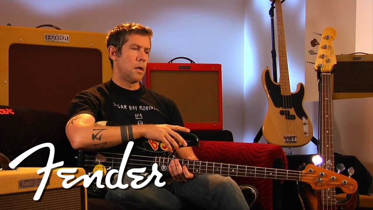 Eric Avery on his Battle-Scarred P Bass   Fender - YouTube