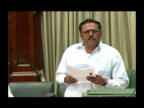 Minister within Ministry of Agriculture, Ali Baksh, 2014 Budget debate presentation