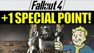 Fallout 4: How to get an Extra SPECIAL Point at the Beginning of the Game!