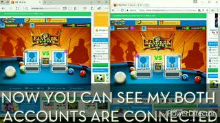 How to transfer millions of coin 8 Ball pool-antibann-SAFE method-pc trick   check description