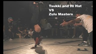 Power moves vs foundation battle as footwork masters Zulu Masters (...