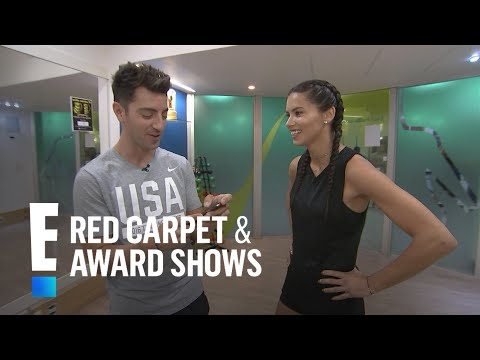 "Adriana Lima Plays ""Would You Rather"" Rio Style! 