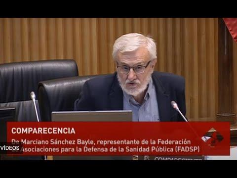 comparecencia FADSP Comisión para la Reconstruccion Económica y Social