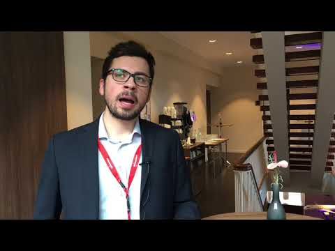 Antonio Pascale from Vueling at Hamburg Aviation Conference 2018