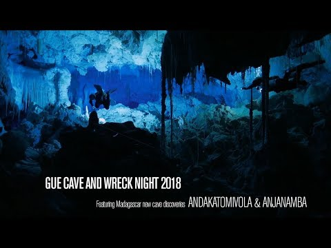 GUE CAVE & WRECK NIGHT 2018