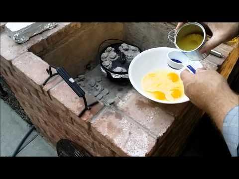 Easy Dutch Oven Pineapple Upside-Down Cake