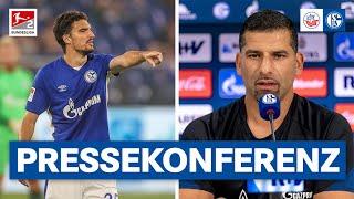 S04-PK vor Rostock   Grammozis und Kaminski   FC Schalke 04