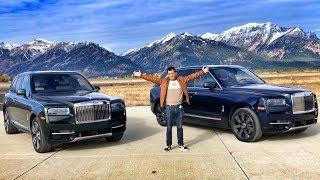 Как Люди Из Rolls-Royce Нас К Тест-Драйву Готовили! Супер День В Штате Вайоминг, Сша. Все По Люксу!)