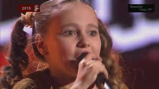 Evelina I Just Can T Wait To Be King The Voice Kids Russia 2018