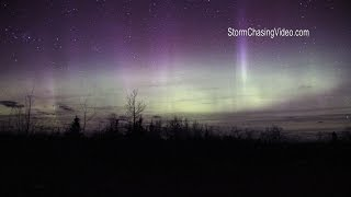 3/18/2015 Beaver Bay, MN Aurora Borealis - Northern Lights