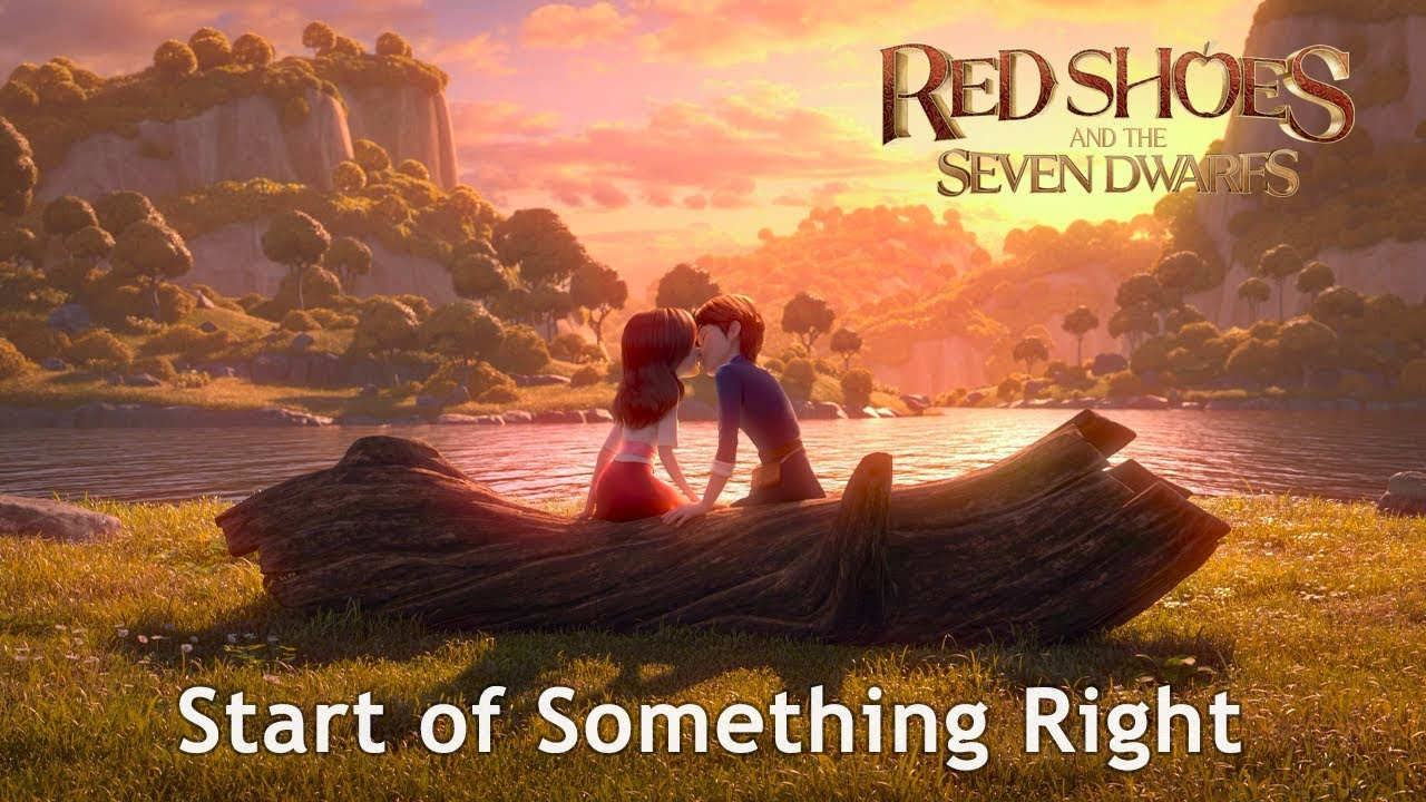 Download 🎵 RED SHOES AND THE SEVEN DWARFS OST l Start of Something Right - Lyric Video [Eng/HD]