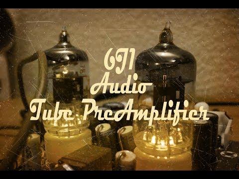 6J1 Tube Valve Preamplifier - YouTube
