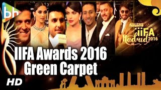 Salman Khan | Deepika Padukone | Ranveer Singh | Priyanka Chopra At IIFA Awards 2016 Green Carpet