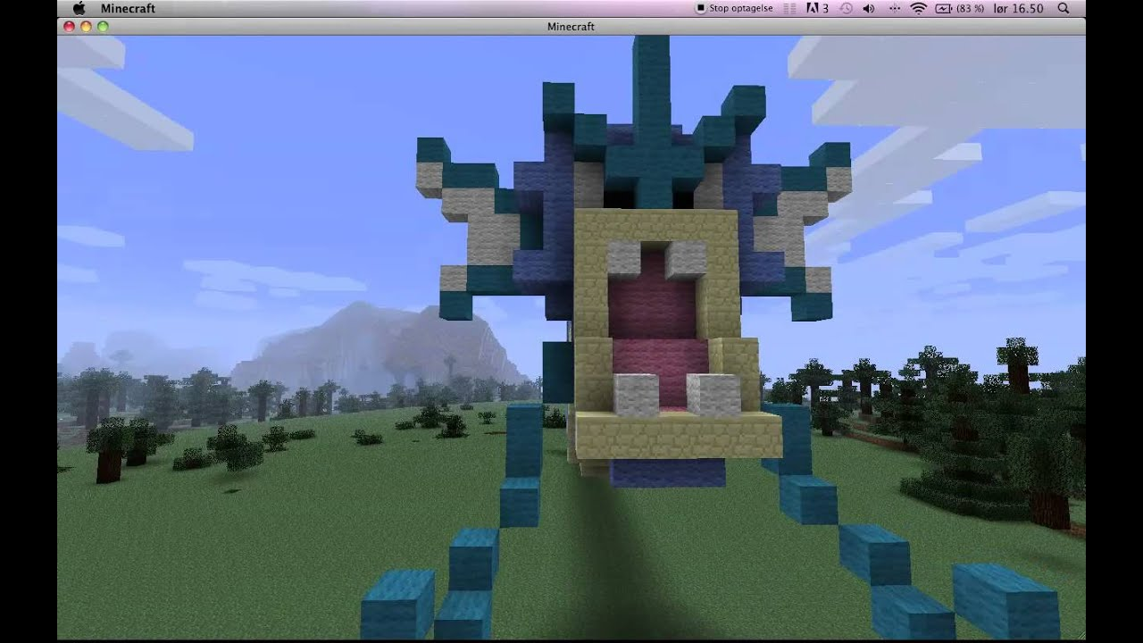 Gyarados On Minecraft by Miccopicco on DeviantArt