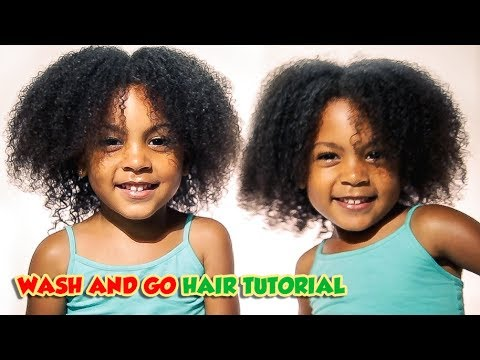 Wash and Go Hair Tutorial!