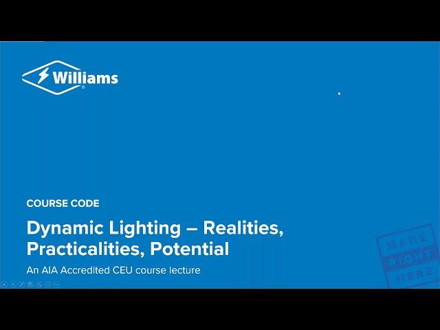 AIA | Dynamic Lighting