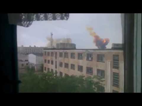 Russian Proton-M Rocket Explodes