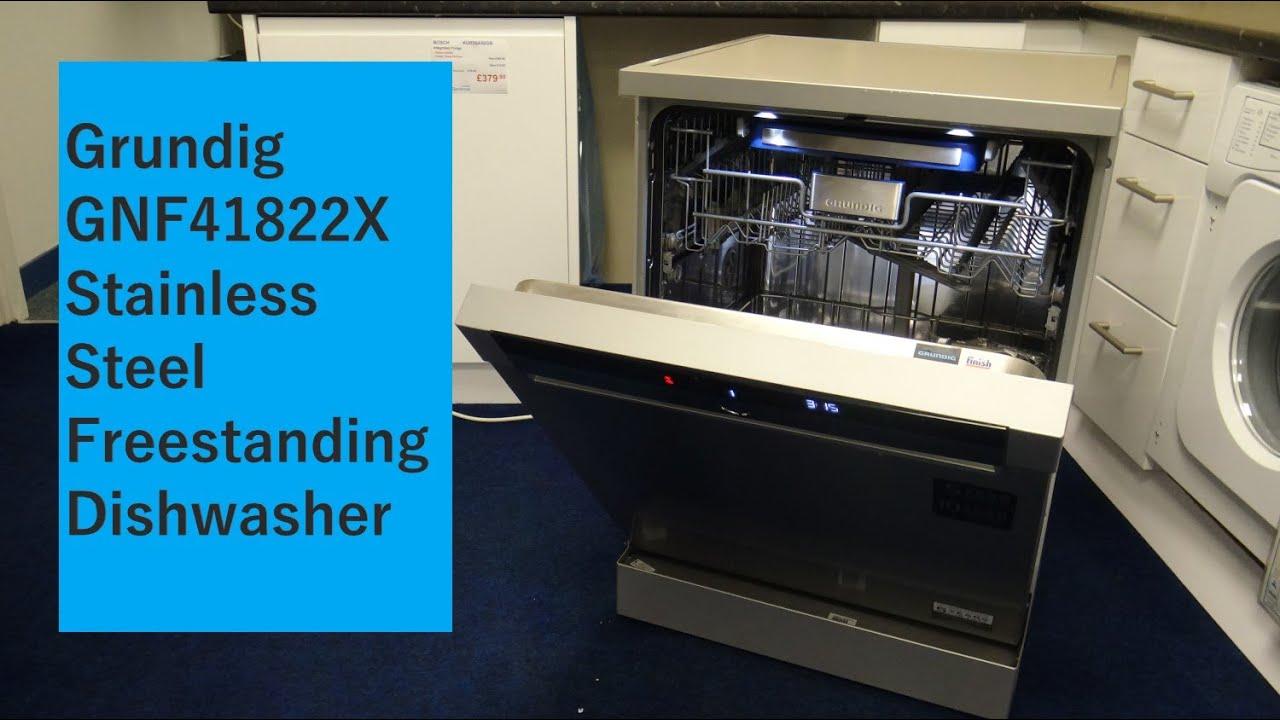 Download Grundig GNF41822 Stainless Steel Dishwasher