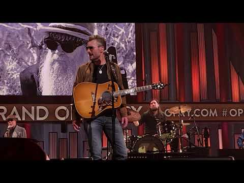 """Eric Church Performs ZZ Top's """"I'm Bad, I'm Nationwide"""" During Billy Gibbons Tribute Concert At The Grand Ole Opry"""