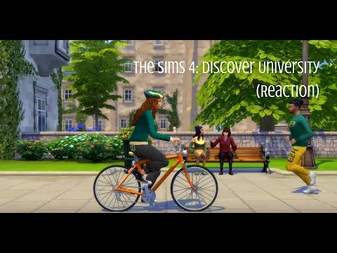 The Sims 4: Discover University (Reaction) |