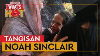Tangisan Noah Sinclair Pecah di Atas Makam Ashraf