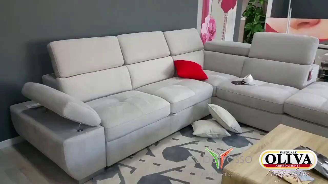 Divano Personalizzabile e Componibile, Cuborosso Malva - YouTube