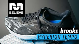Brooks Hyperion Tempo Video Review