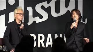 TAKURO(GLAY)アルバムリリース記念プレミアム試写会