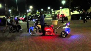 Custom Bike With Speakers!!!!!!