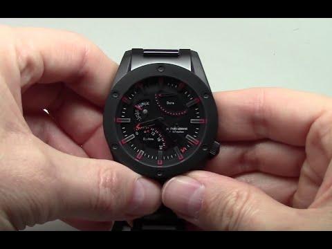 74380576b9d6d3 Jacques Lemans Liverpool GMT Sport Men s Watch Review Ref  1-1634I ...