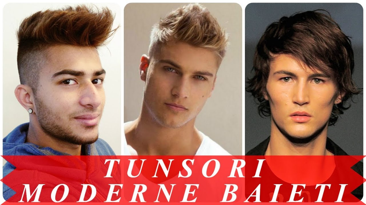 Modele De Tunsori Moderne Baieti 2018 Youtube