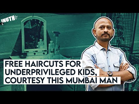 Mumbai Man Gives Free Haircuts To Underprivileged Kids During Lockdown