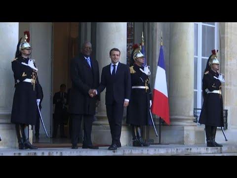 La rencontre Macron-Kaboré dominée par l\'insécurité au Sahel
